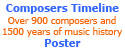 composers timeline poster ad