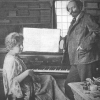 Bertram Shapleigh and his wife