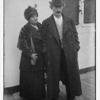 Ignacy Paderewski and his second wife, 1915
