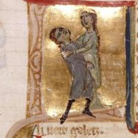 Jaufré Rudel dies in the arms of Hodierna of Tripoli
