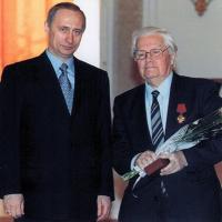 Serafim_ ulikov with Vladimir Putin