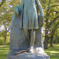 Gunnar Wennerberg statue