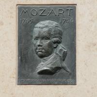 Mozart plaque