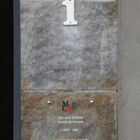 Andrée Bonhomme plaque