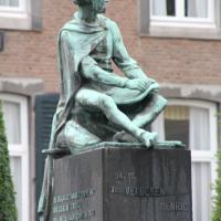 Henric van Veldeke statue