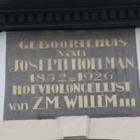 Joseph Hollman plaque