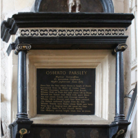 Osbert Parsley memorial