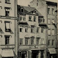 Wagner's birthplace (demolished 1886)
