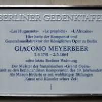 Meyerbeer plaque