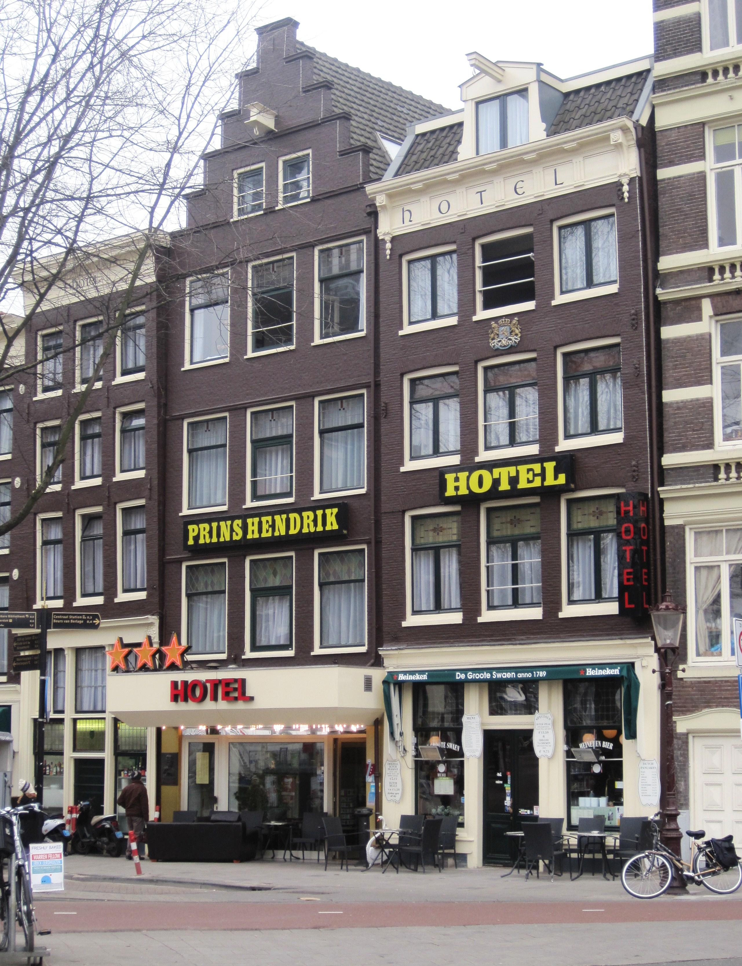 Image For Prins Hendrik Hotel Hendrikkade 52 57 Amsterdam